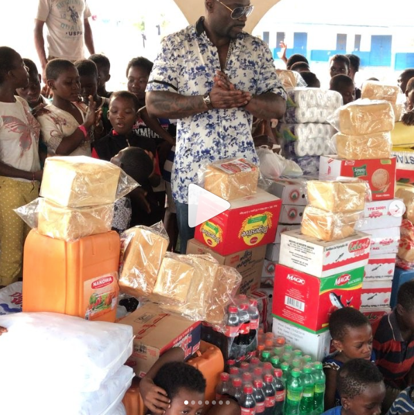 JSL VISITS THE EYE OF THE LORD ORPHANAGE in GHANA